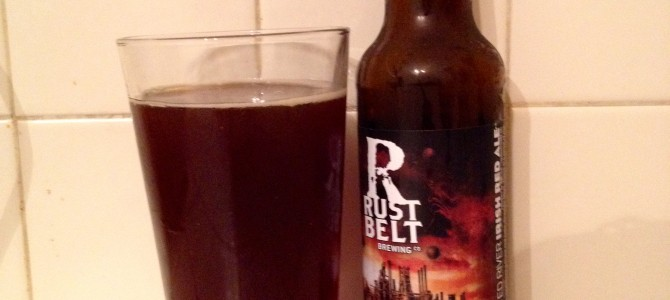 Periodic Pints – Rusted River Irish Red Ale – Rust Belt Brewing Company